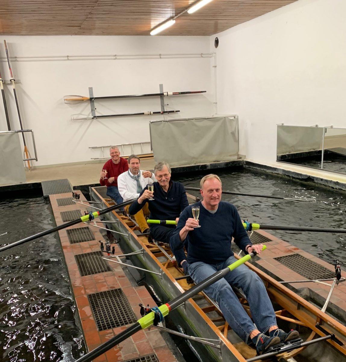 Ruderbecken - erste Sanierungsarbeiten abgeschlossen