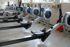 Fitnessraum Ergometer